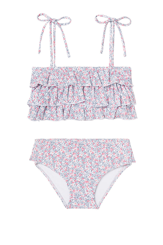 Cherry Blossom Ruffle Two-Piece