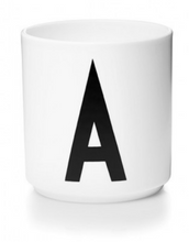 PERSONAL PORCELAIN CUP WHITE (A-Z)