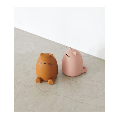 Palma Money Bank - Cat mustard