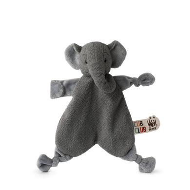 WWF Cub Club Ebu The Elephant Grey Soother