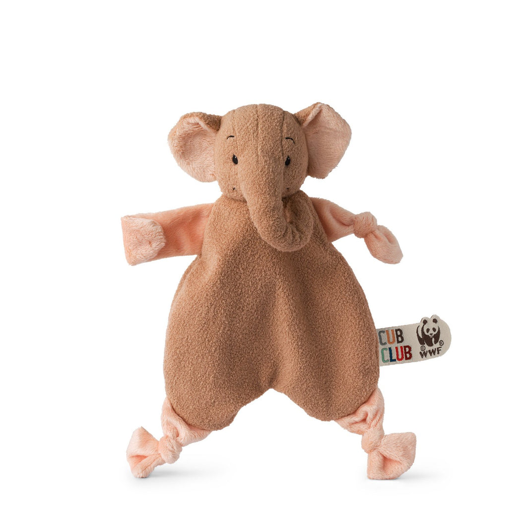 WWF Cub Club Ebu The Elephant Pink Soother