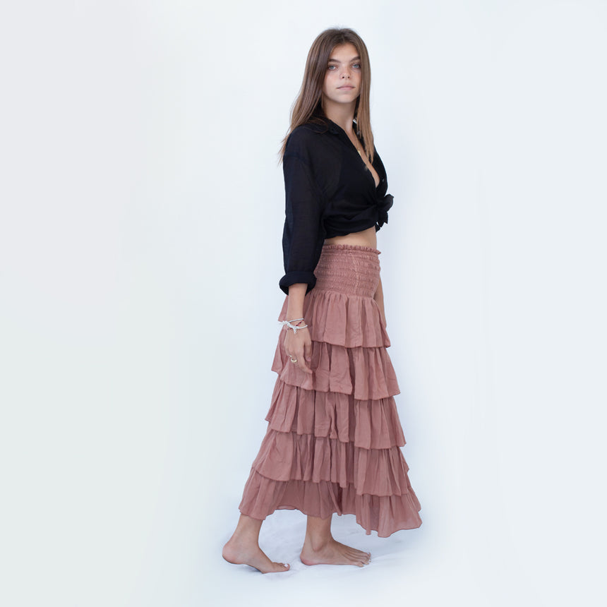 Korcula Skirt in Cocoa