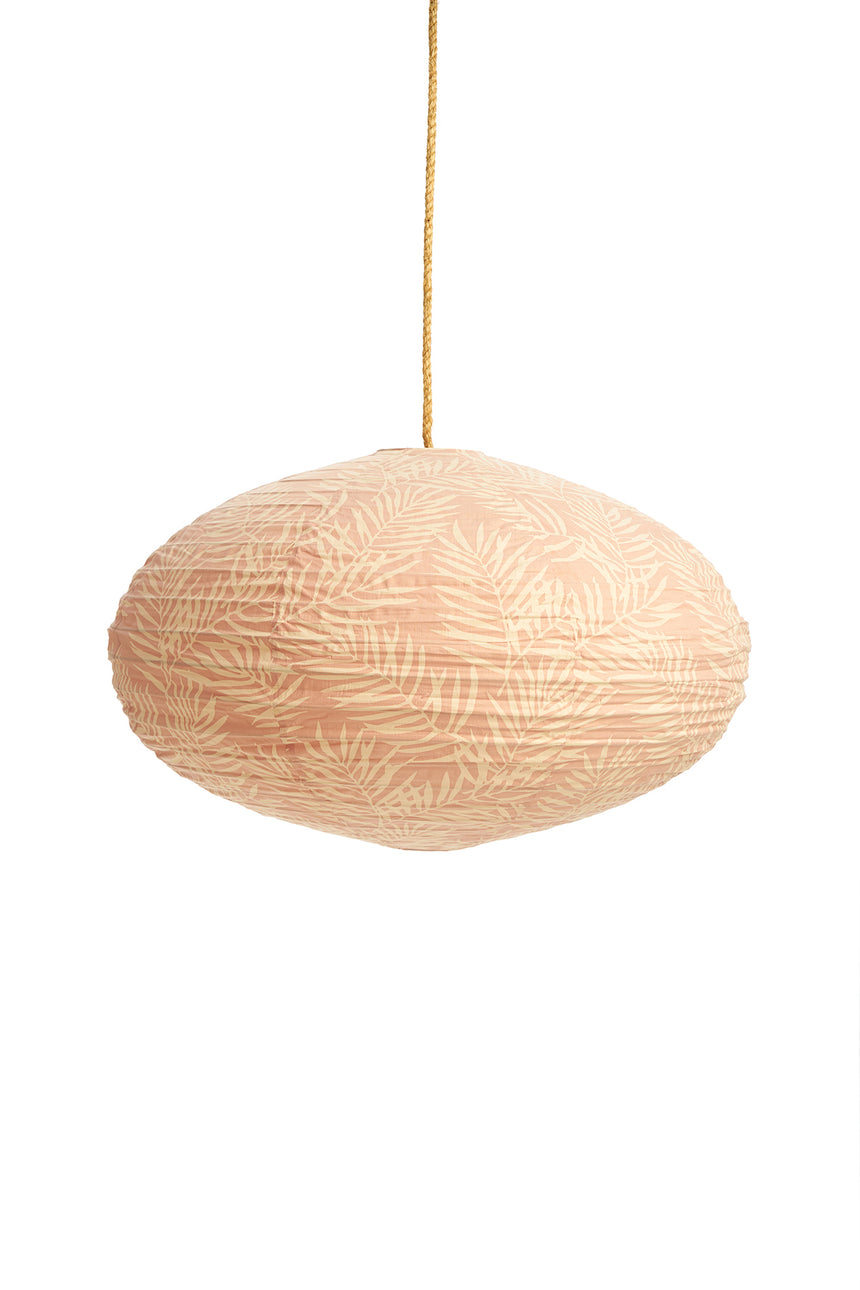 Cotton Palm Pink Lantern