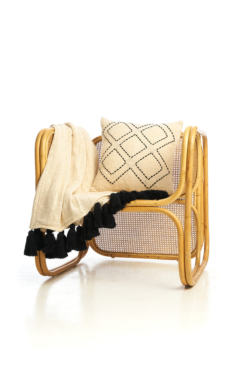 The Jules Rattan Lounge Chair