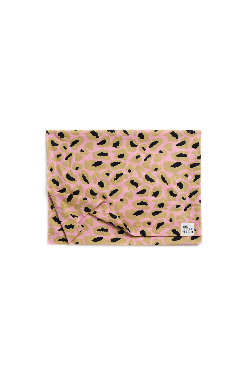 Hot Pink Leopard Pillow Case - set of 2