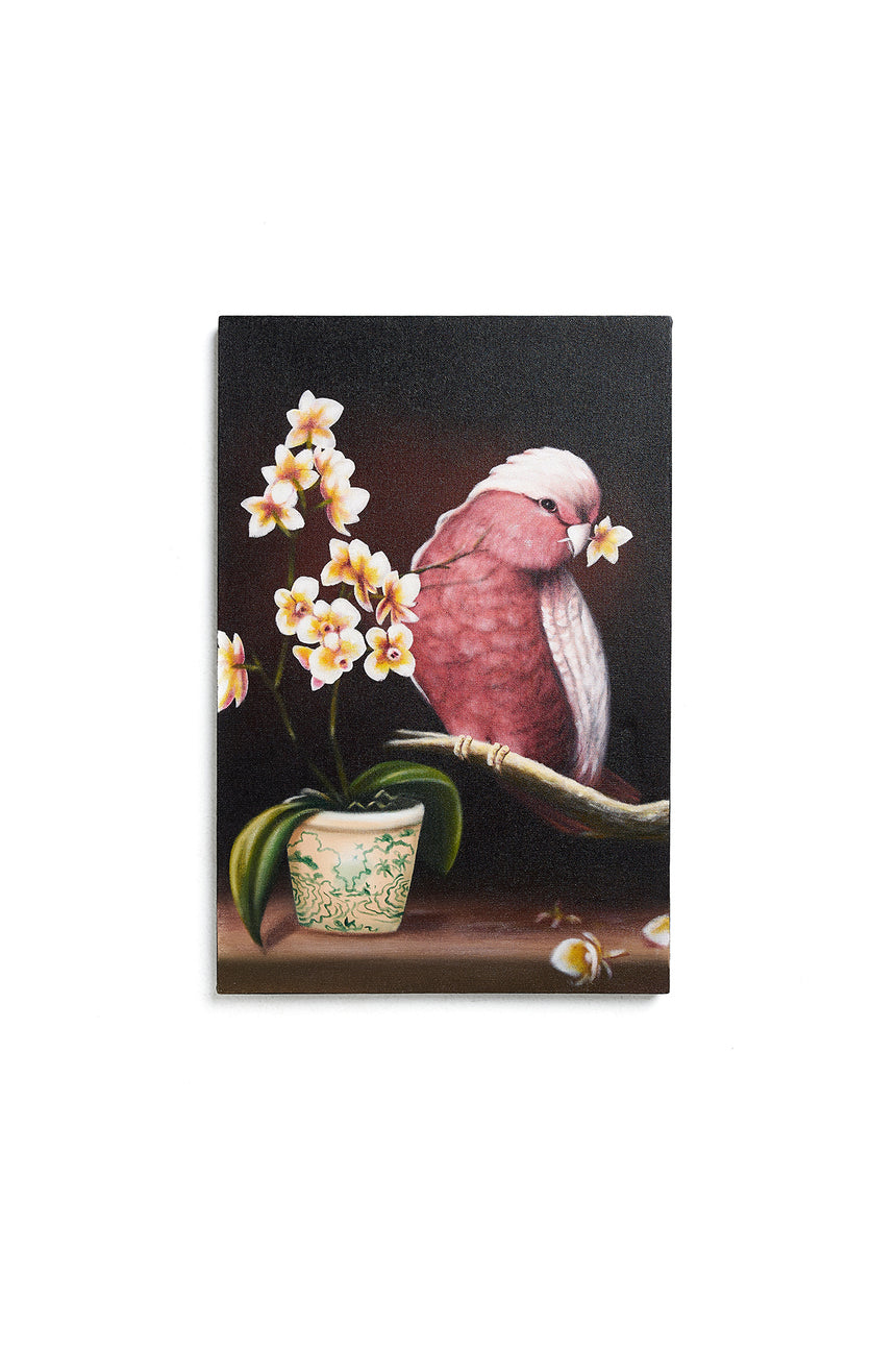 Bird Flowers Painting