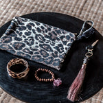 Big Cat Leopard clutch