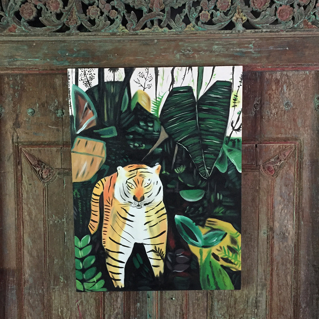 Jungle Tiger Painting