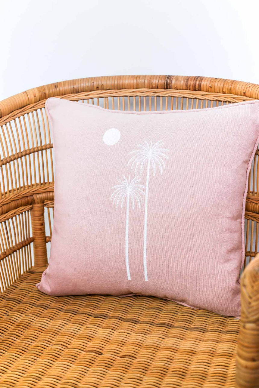 Sunset Pink Cushion Cover