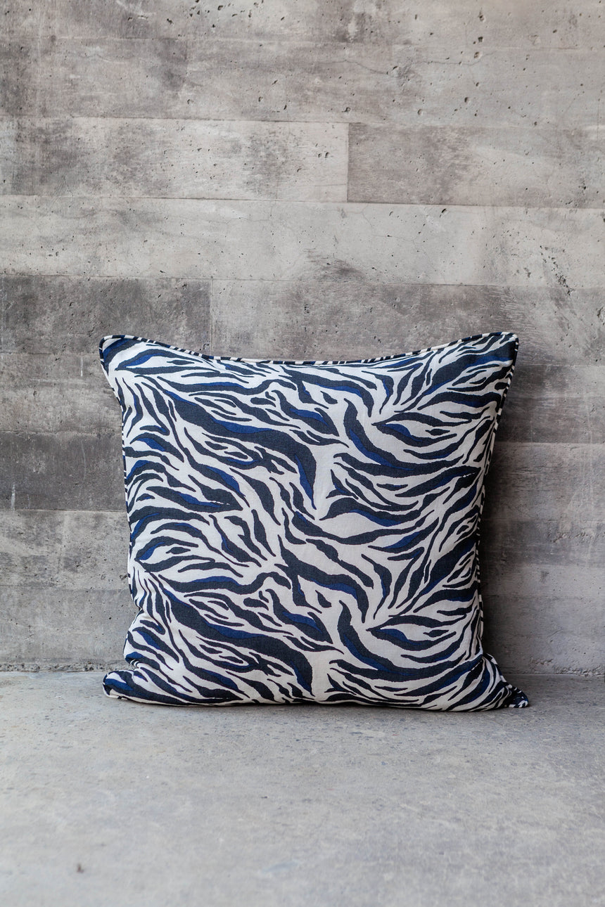 Zebra Floor Cushions