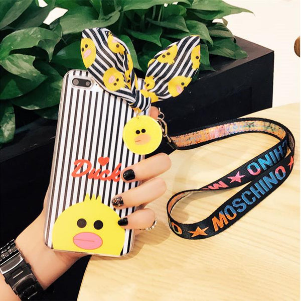 Cute iPhone Case with Rabbit Ear