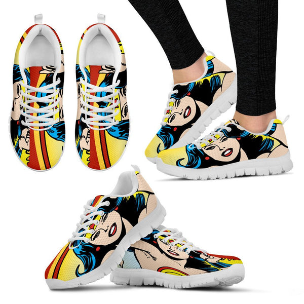 Custom Wonder woman Sneakers