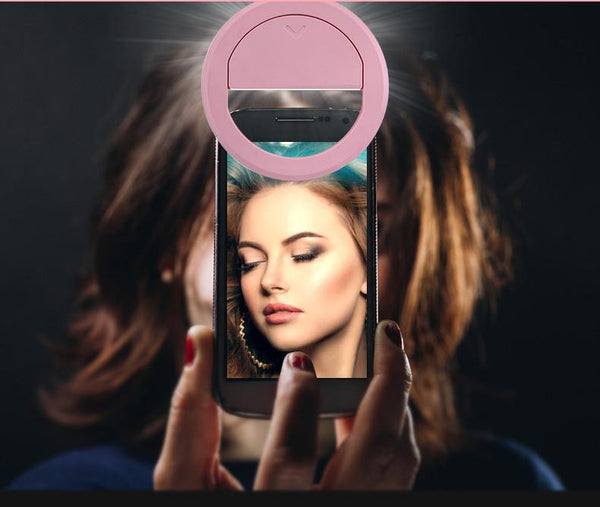 Selfie LED Ring Light lens