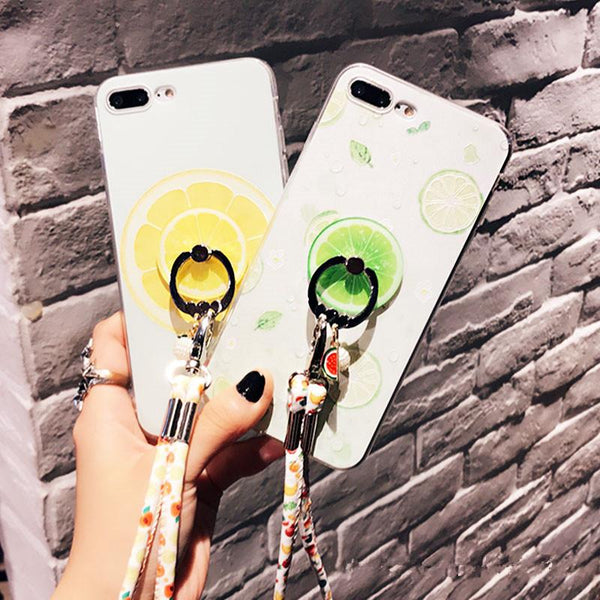 Color Lemon iPhone Case