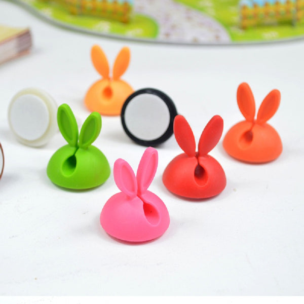 6 PCS  Rabbit Clips