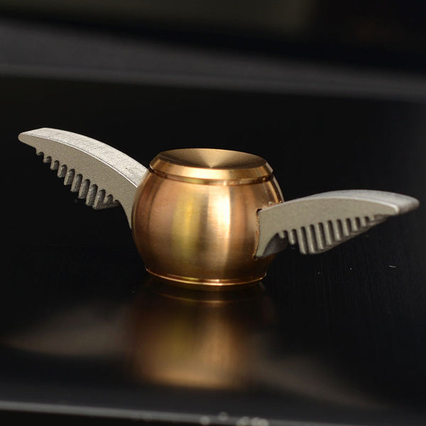 metal cupid golden snitch fidget spinner