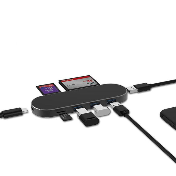7-in-1 USB Type-C Hub for MacBook and Google pixel