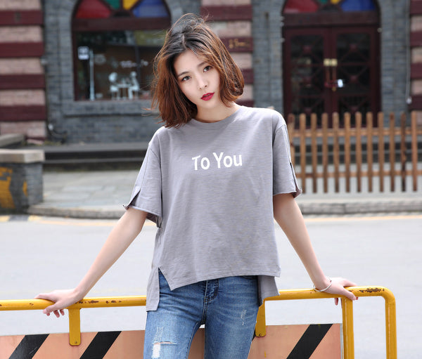 Delicate  pure  Cotton T Shirt