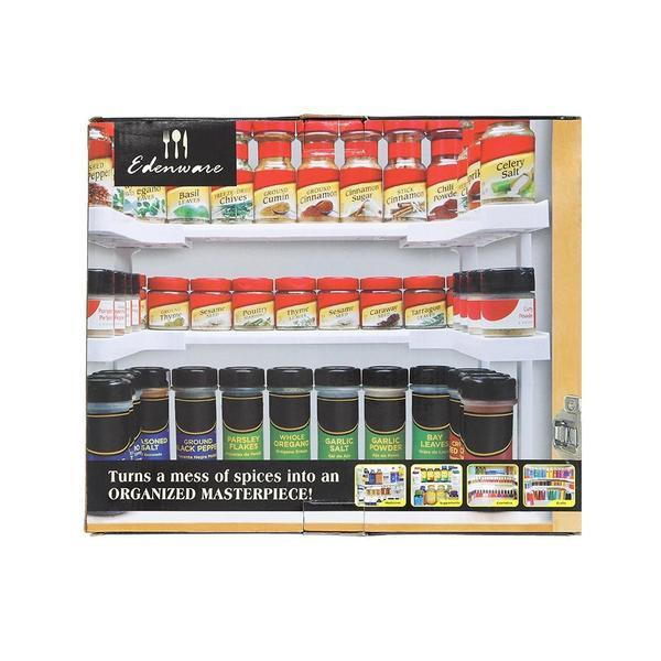 Kdenware™SPICE RACK AND STACKABLE SHELF