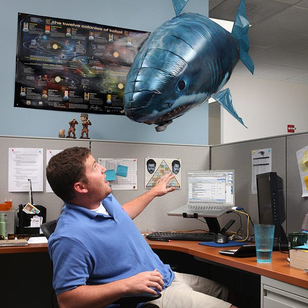The Remote Controlled Fish Blimp
