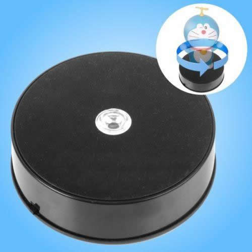 14CM LED 3D 360 ROTATING TURNTABLE