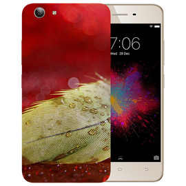 Feather Art Printed Case Cover For VIVO Y53 by Mobiflip