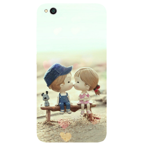 Baby Kiss Printed Case Cover For Redmi 5A by Mobiflip