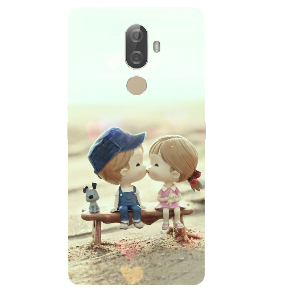 Baby Kiss Printed Case Cover For Lenovo K8 Note Plus by Mobiflip