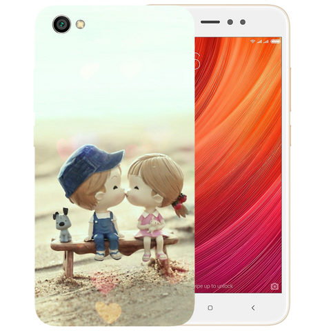 Baby Kiss Printed Case Cover For Redmi Y1 Lite by Mobiflip