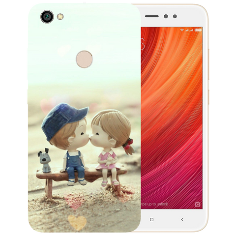 Baby Kiss Printed Case Cover For Redmi Y1 by Mobiflip