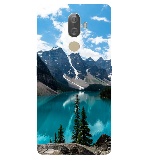 Mountain View Printed Case Cover For Lenovo K8 Note Plus by Mobiflip