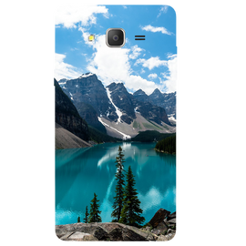 Mountain View Printed Case Cover For Samsung J2 2016 by Mobiflip