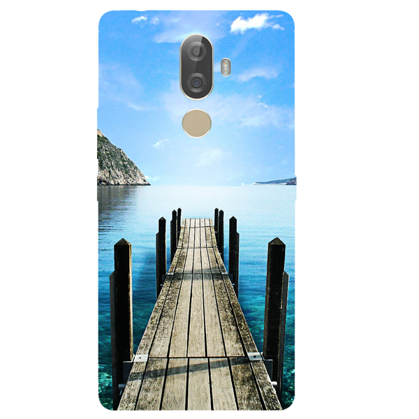 River Bridge Printed Case Cover For Lenovo K8 Note Plus by Mobiflip
