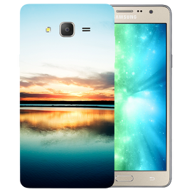 Sun Set Printed Case Cover For Samsung J2 2016 by Mobiflip
