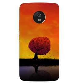Tree Art Printed Case Cover For Motorola G5 by Mobiflip