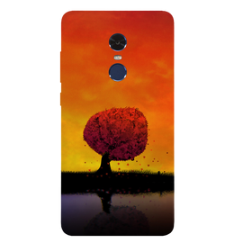 Tree Art Printed Case Cover For Redmi Note 4 by Mobiflip