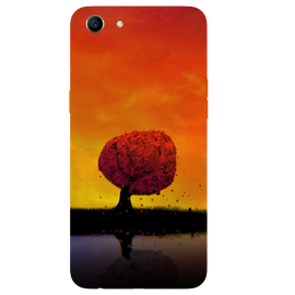 Tree Art Printed Case Cover For OPPO A83 by Mobiflip