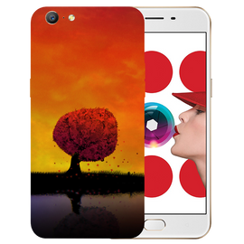 Tree Art Printed Case Cover For OPPO A57 by Mobiflip