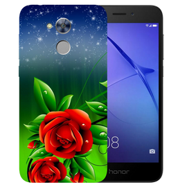 Red Rose Printed Case Cover For HONOR Holly4 by Mobiflip