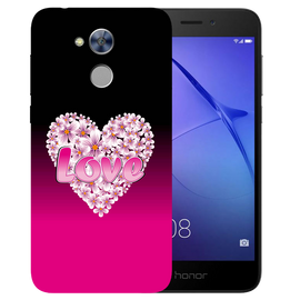 Flower Heart Printed Case Cover For HONOR Holly4 by Mobiflip