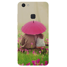 Monsoon Poster Printed Case Cover For VIVO V7 Plus by Mobiflip