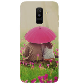 Monsoon Poster Printed Case Cover For Samsung A6 Plus by Mobiflip