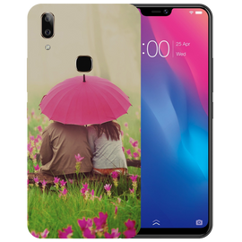Monsoon Poster Printed Case Cover For VIVO V9 Youth by Mobiflip