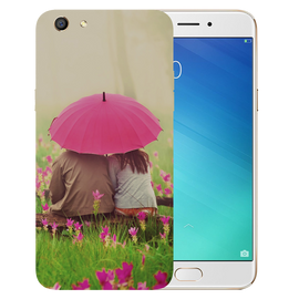 Monsoon Poster Printed Case Cover For OPPO F3 by Mobiflip