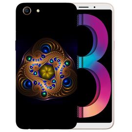 Unique Art Printed Case Cover For OPPO A83 by Mobiflip