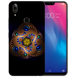Unique Art Printed Case Cover For VIVO V9 Youth by Mobiflip