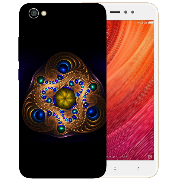 Unique Art Printed Case Cover For Redmi Y1 Lite by Mobiflip