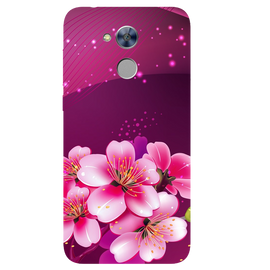 Shining Flowers Printed Case Cover For HONOR Holly4 by Mobiflip