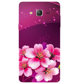 Shining Flowers Printed Case Cover For Samsung J2 2016 by Mobiflip