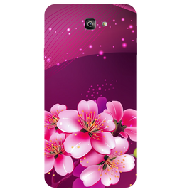 Shining Flowers Printed Case Cover For Samsung J7 Prime 2 by Mobiflip